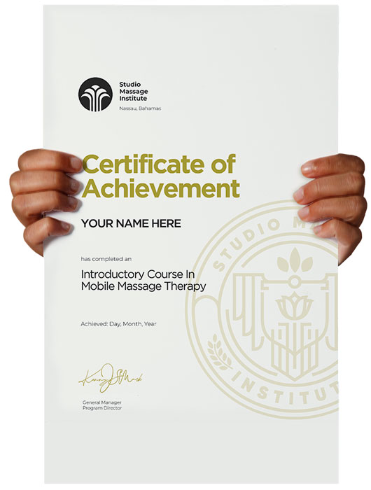 Certificate Massage Therapy Class Course School Institute Nassau Bahamas