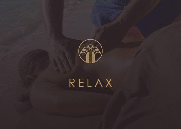 Relaxing Massage on Back Male Mobile Spa Studio Massage Therapist Nassau Bahamas Paradise Island Atlantis Baha Mar Hotel Airbnb